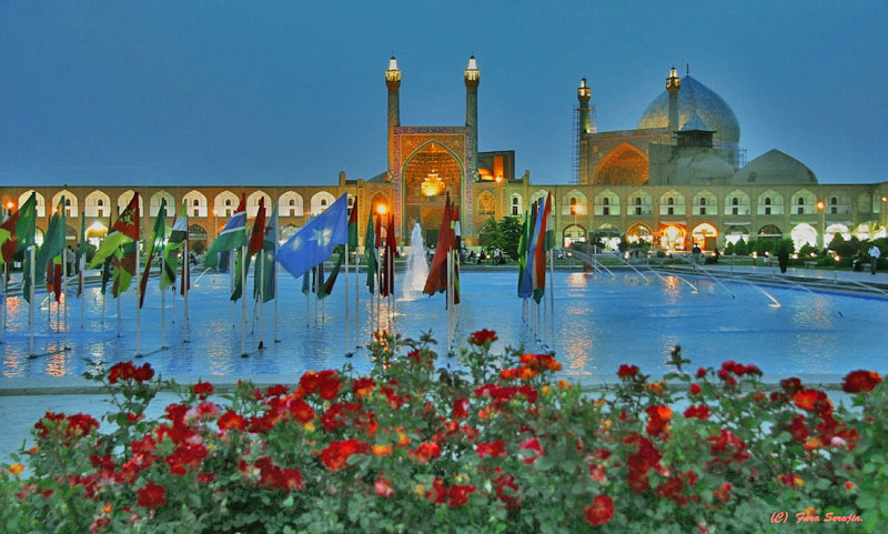 Isfahan One Of The Largest Historical Cities In The World